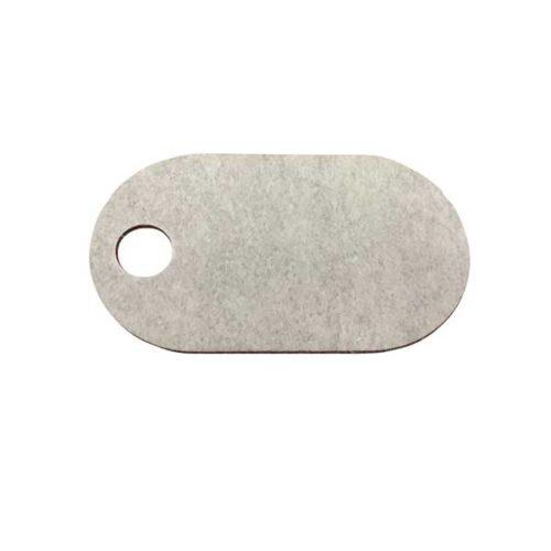 Fiber Tag Grey