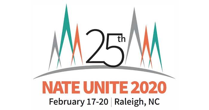 25th NATE UNITE 2020 Feb 17-20 Raleigh NC